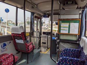 ジョイックス交通バス(車内)