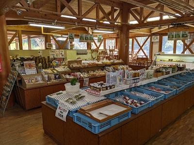 わんぱく館農産物直売場